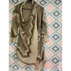 BCBGmaxazria Wrap Sweater